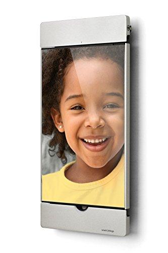 Smart things s18 s sDock Mini 4 Silber 2Generation Abschliesbare um 90 drehbare Wandhalterung Ladestation Fotorahmen fur Apple iPad Mini 4 5