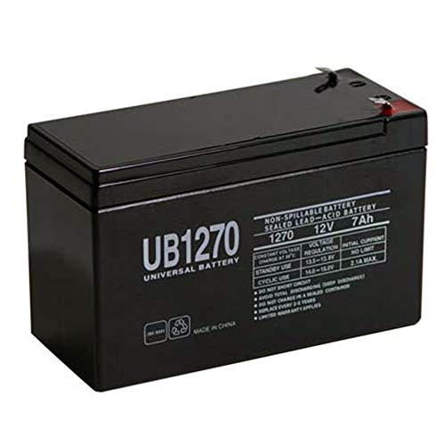 Universal Power Group 12V 7Ah SLA Battery Replacement for Home ADT Security Alarm System