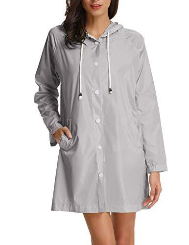 ladies hooded raincoat - 4
