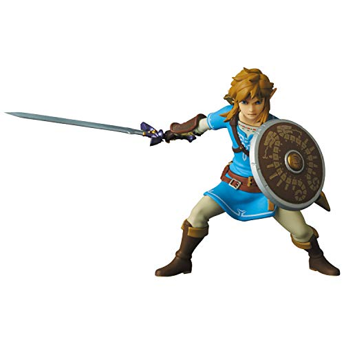 The Legend of Zelda: Breath of The Wild Link Ultra Detail Figure, Multicolor