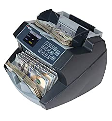 Cassida 6600 Business Grade Money Counting Machine with Ultraviolet/Magnetic (UV/MG) Counterfeit Detection, LCD Display