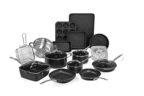 As Seen on TV Granite Stone Diamond 20pc Cookware/Bakeware Set