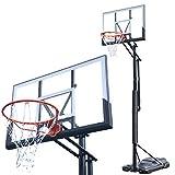 バスケットゴール 屋外用 バスケットゴール 家庭用 バスケットボール AxiSkill (F808)