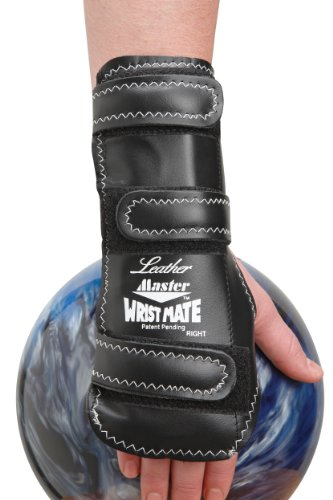 Master Industries Wrist Mate Leather Bowling Gloves, X-Large, Right Hand