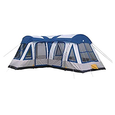 Tahoe Gear Gateway 10 to 12 Person Deluxe Cabin Family Camping Tent