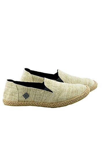 virblatt Espadrilles de cáñamo cómodas para Hombres en Tallas 40 41 42 43 44 Alpargatas Hombre de cáñamo como Zapatos Verano étnicos de cáñamo –Bequem be 40