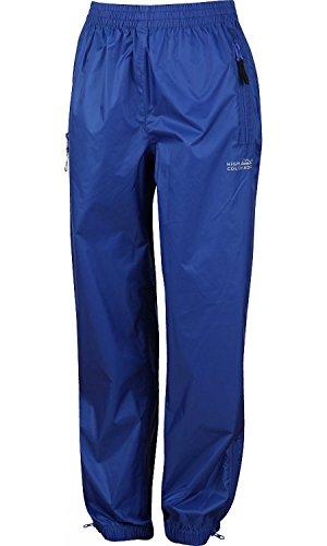 High Colorado 100629-5000 Pantalon de pluie pour enfant Rain 1-K 8-9 ans bleu