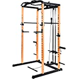 Vanswe Power Rack Power Cage 1000-Pound Capacity Home Gym Equipment Exercise...