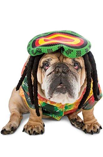 Rasta Imposta Disfraz de Perro Rasta XS