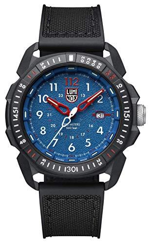 Luminox Mens Watch ICE-SAR Arctic Blue Dial 46mm (XL.1003/1000 Series): 200 Meter Water Resistant +...