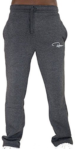 REDRUM Plain Trainingshose Jogginghose Sweatpants Fitness Sport Streetwear (S, Anthrazit)