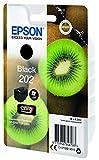 Epson Kiwi Singlepack Black 202 Claria Premium Ink - Cartucho de tinta para impresoras (Original, Tinta a base de pigmentos, Negro, Epson, 1 pieza(s), Impresión por inyección de tinta)