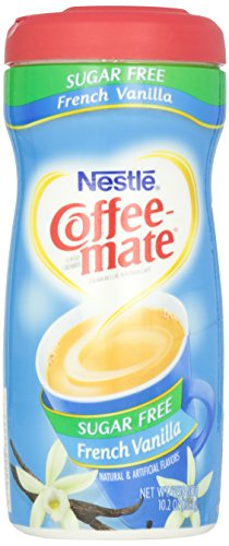 Coffee-Mate Sugar Free Powder, French Vanilla, 10.2 oz