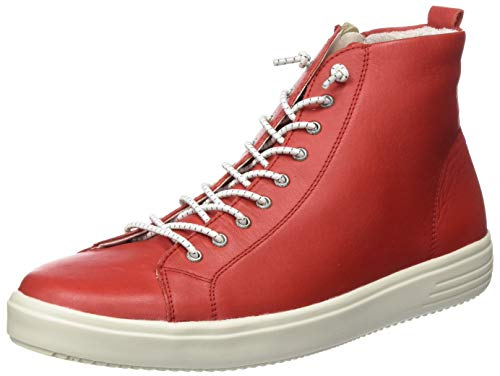 Remonte Damen D1470 Hohe Sneaker, Rot (Flamme 34), 41 EU
