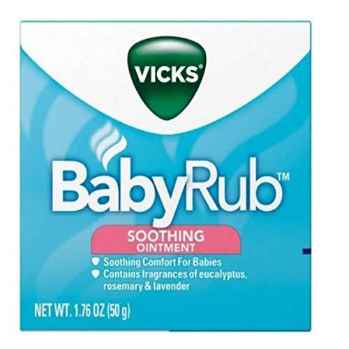 Vicks Babyrub Baby Rub Vick, 50 g