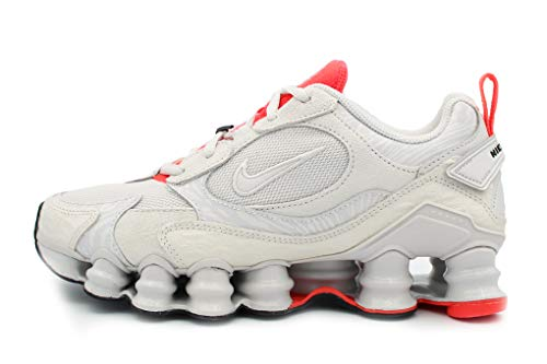 Nike Damen WMNS Shox Tl Nova Laufschuh, Vast Grey/Vast Grey-Laser Crimson-White, 38.5 EU
