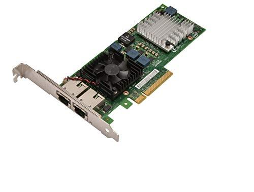 Dell JM42W Intel X520-t2 Ethernet-Karte (10 GB, Dual Port, PCI-e NIC LP)