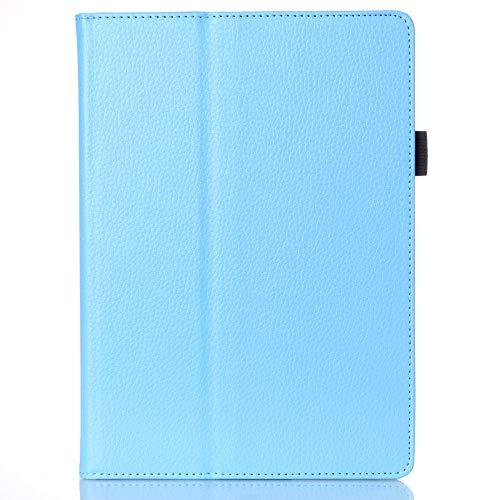 para Lenovo A10-30F TB2 X30L X30F Tablet 10.1 Funda Delicada Kickstand PU Funda de Cuero para para Lenovo Tab 2 A10-30-Azul