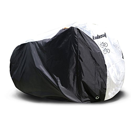 BALEAF Oxford Fabric Waterproof Bicycle Cover for 2 Bikes Lockhole Design Size XL