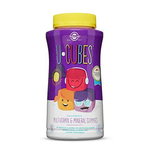 Solgar U-Cubes Vitaminas y Minerales - 120 Unidades