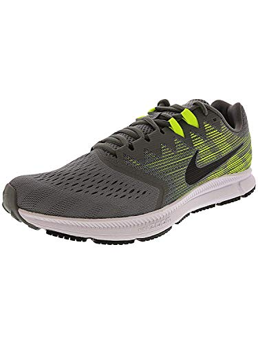 Nike Men's Air Zoom Span 2 Running Shoes (8, Grey/Black/Volt)