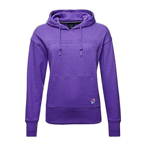 Superdry Women's Sportstyle Nrg Emboss Hood Sweatshirt