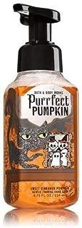 Bath and Body Works 2017 Halloween Edition Purrfect Pumpkin (Sweet Cinnamon Pumpkin) Gentle Foaming Hand Soap 8.75 Oz.