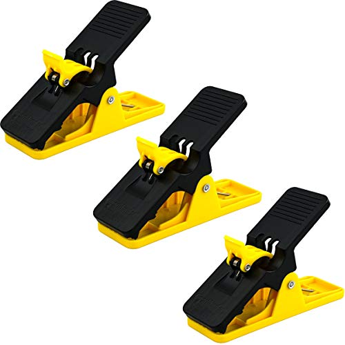 Cigar Holder Clip - Yellow Cigar Minder - 3 Pack