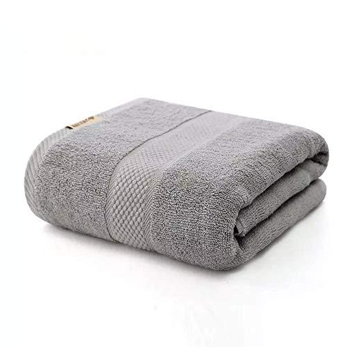 N / B Toallas de baño, Toallas Grandes, Mantas, Suaves y Que no desprenden Pelusa, de Secado rápido y Fuerte absorción de Agua, húmedas y secas, Gris