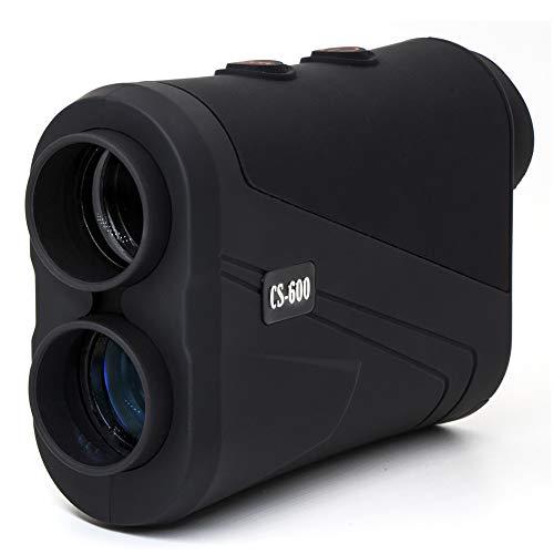 MOESAPU Laser Golf/Hunting Range Finder 650Yards Distance, Speed, Flag Lock with High-Precision Laser Binoculars 7X Magnification Rangefinder