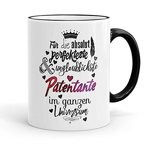 Funny Coffee Mug,Funtasstic mug For the absolutely perfect godmother coffee mug color: black 11oz Mug