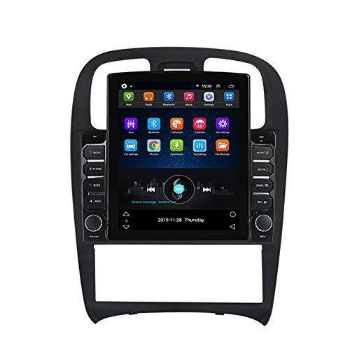 Radio Automóvil 2 DIN Pantalla Táctil 9.7 Pulgadas Estéreo Llamadas Manos Libres Bluetooth Enlace Espejo/FM/Incluida Cámara Trasera para Hyundai Sonata Fe 2004-2012,4core WiFi: 1+16g