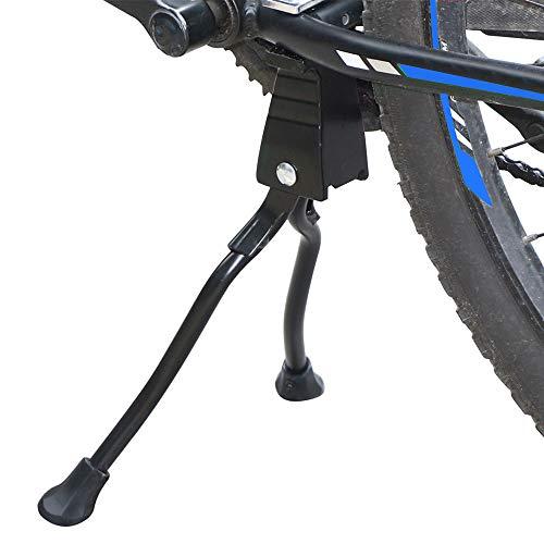 AllRight Anti-Rutsch Fahrradständer Zweibeinständer Seitenständer Hinterbau für 24-28 Zoll Mountainbike Klapprad & Rennrad