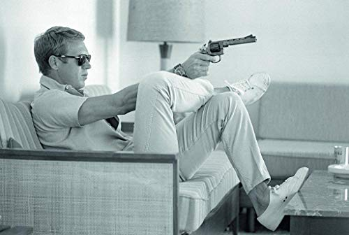Steve McQueen - US Imported Movie Wall Poster Print - 30CM X 43CM Time Life Magazine Photo