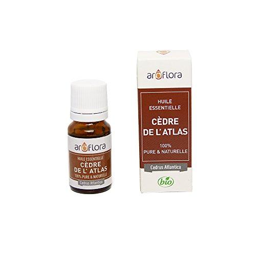 Arôflora Huile Essentielle de Cèdre de L'Atlas 100% Pure/Naturelle 10 ml