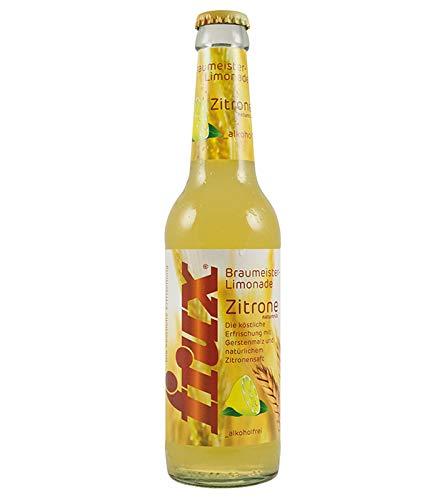 frux Braumeister-Limonade Zitrone naturtrüb - 24 x 330 ml Mehrweg incl. Pfand