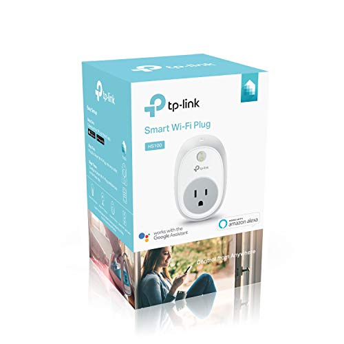 Kasa Smart WiFi Plug by TP-Link – Smart Plug, No Hub Required, Works with Alexa and Google...