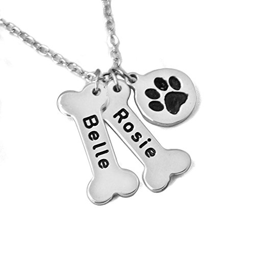 ZXB JEWELRY Personalized Dog Necklace