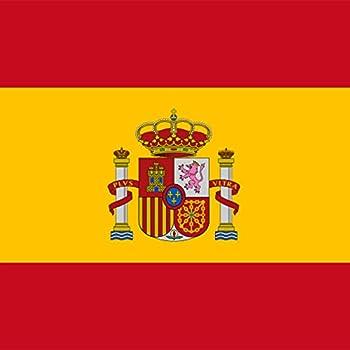 designersgroup – Imán para nevera con bandera nacional española – 5 x 5 cm – Imán de España como regalo o souvenir: Amazon.es: Hogar