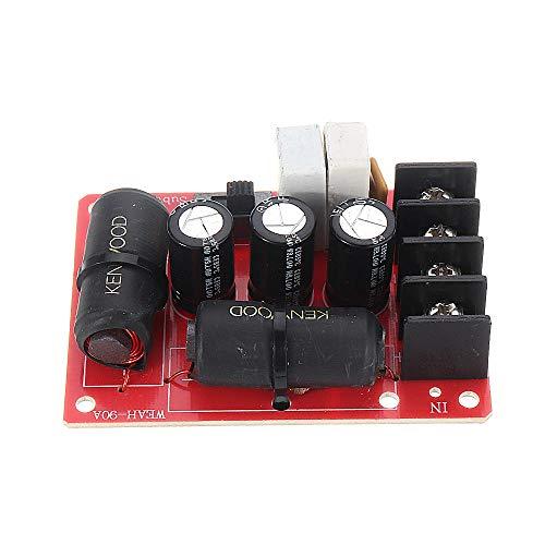 YEZIB Accesorios electrónicos de Bricolaje, 200W Audio Subwourer Subwoofer Crossover Soldador Bass Frecuencia Divider Module WEAH-90A