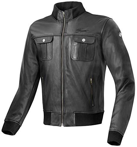Bogotto Brooklyn Motorrad Lederjacke 56 Schwarz