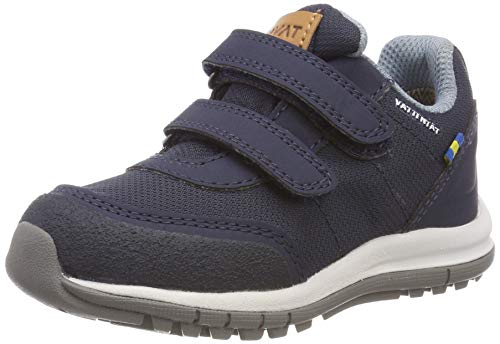Kavat Unisex-Kinder Halland WP Sneaker, Blau (Blue 989), 27 EU