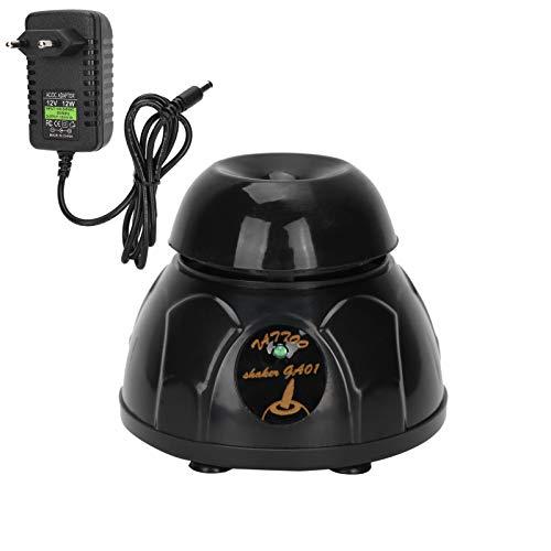 Tinta de pigmento de tatuaje Agitador eléctrico Agitador Esmalte de uñas Gel UV Mezclador Vortexer Negro