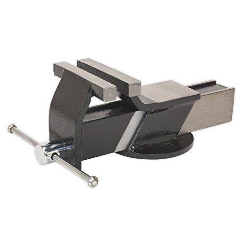 Siegen s01082Schraubstock 125mm Stahl florgewebe
