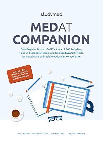 MedAT Companion: Dein Begleiter für den MedAT 2021 mit über 2000 Aufgaben