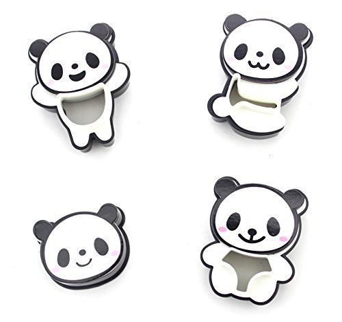 ANFIMU Adorable Panda Pocket Sandwich Cutter, Bread Cutter, Hand Tools Sandwich Kit, Food Deco, Sandwich Mold, Sandwich Maker, Toast Mold Mould, Cookie Stamp Kit, Bread Tool DIY, All Kids Love It!