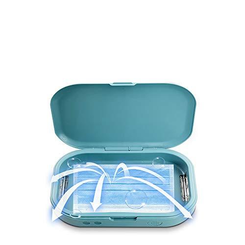 W.KING Caja Esterilizador UV con La Desinfección Esterilización De Luz para Celulares/Pinceles De Maquillaje/Cepillo De Dientes/Ropa Interior/De La Joyería, Sanitiser Desinfectar