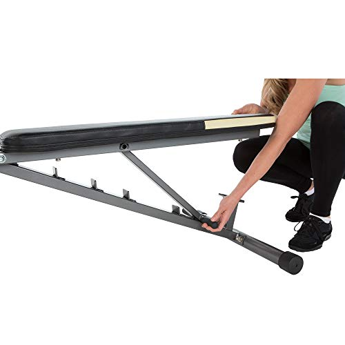 Fitness Reality 1000 Super Max Adjustable Weight Bench, 800 lbs (Renewed)