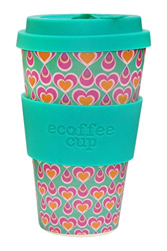 Ecoffee Cup Itchykoo Rose, Turquoise 1pièce(s) Tasse et mug