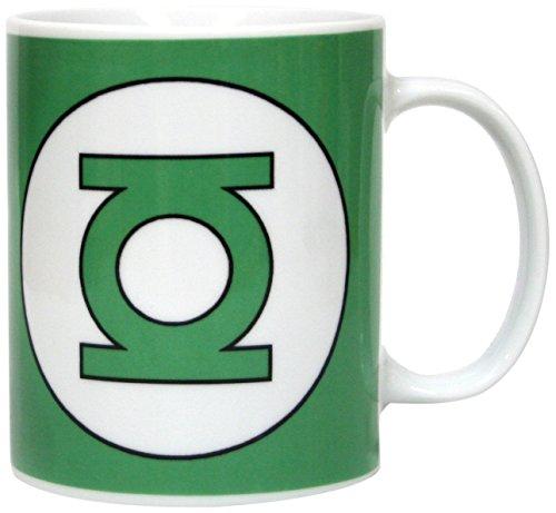 SD Toys SDTWRN02993 - Taza de cerámica, logo Green Lantern, DC Comics Taza Cerámica, Centimeters